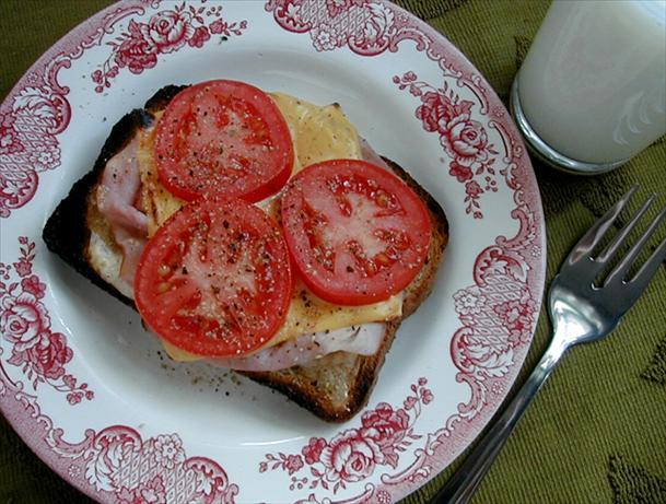 Hot Open-Faced Sandwich
