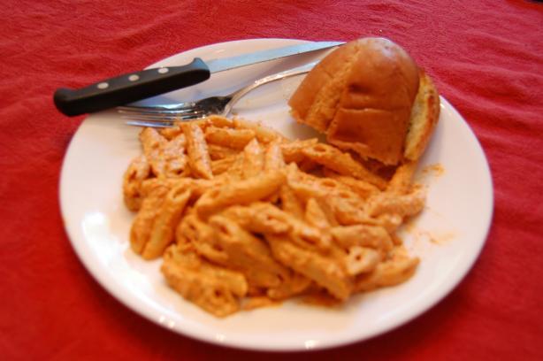 Creamy Basil & Red Pepper Pasta
