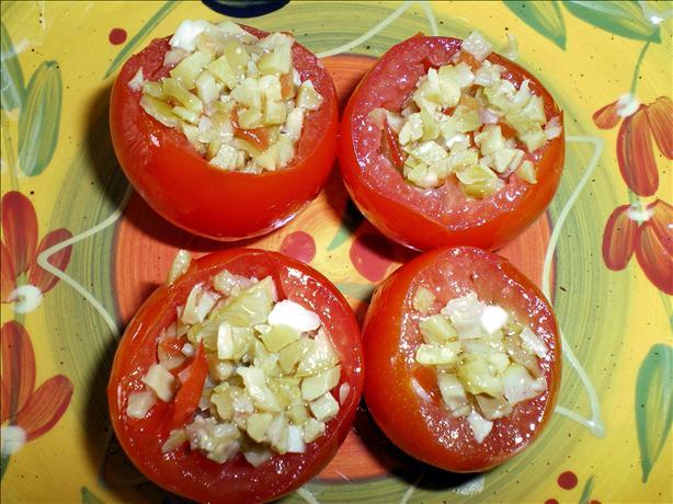 Stuffed Cherry Tomato Tapas