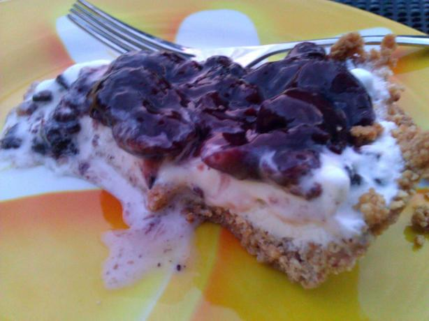 Black Forest Ice Cream Pie
