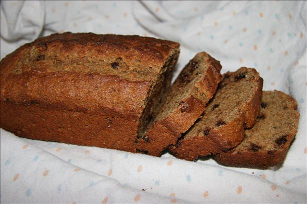 Banana Chip Bread (Lower Fat)