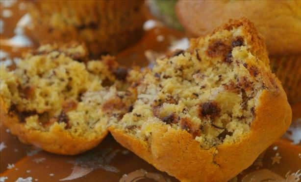 Banana Nut Chip Muffins