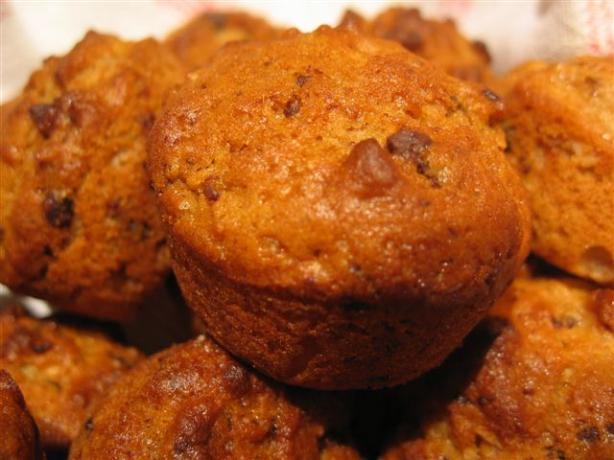 Coconut, Chocolate & Banana Mini Muffins