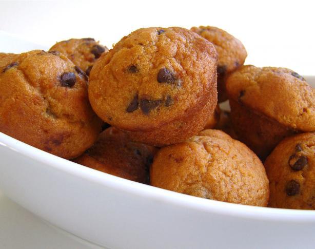 Lite or Light Pumpkin Chocolate Chip Muffins