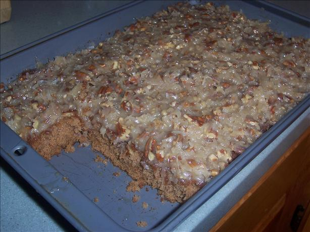 Sarah 's Oatmeal Cake With Coconut Pecan Frosting