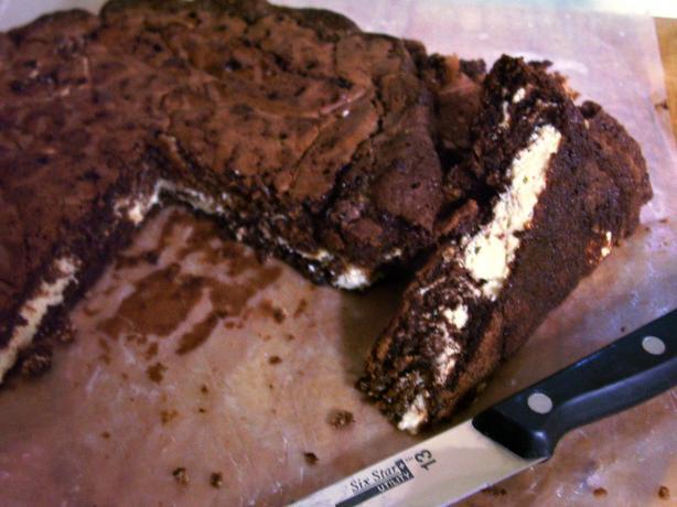 German Cream Cheese Brownies