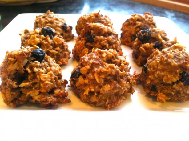 Cranberry-Walnut Oatmeal Cookies (Vegan & Gluten-Free)