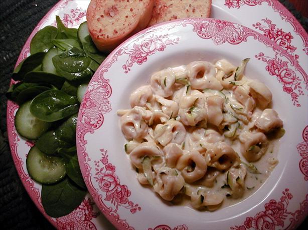 Cream Pasta Sauce With Zucchini