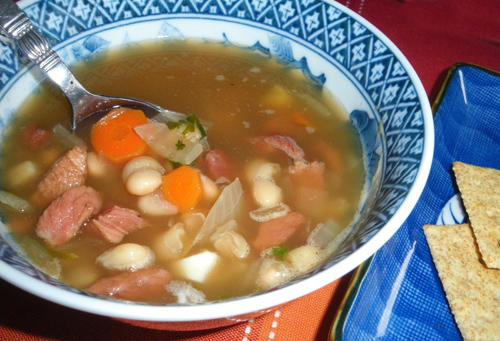 Navy Bean (Ham and Bean) Soup