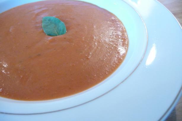 Creamy Tomato Basil Soup (Oamc)