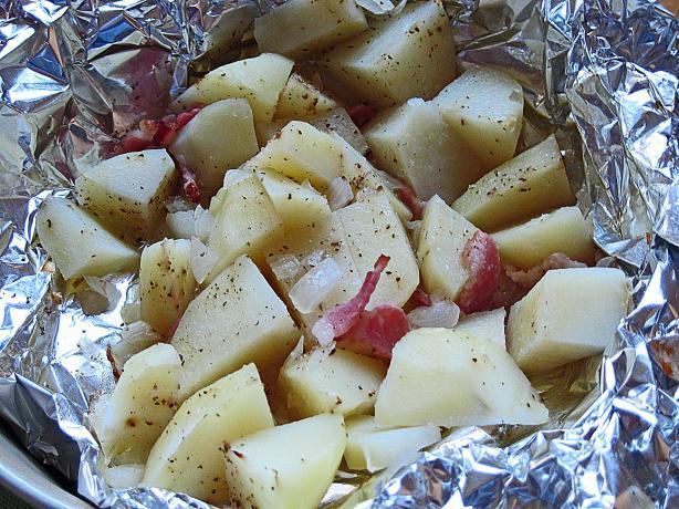 Potatoes in Foil