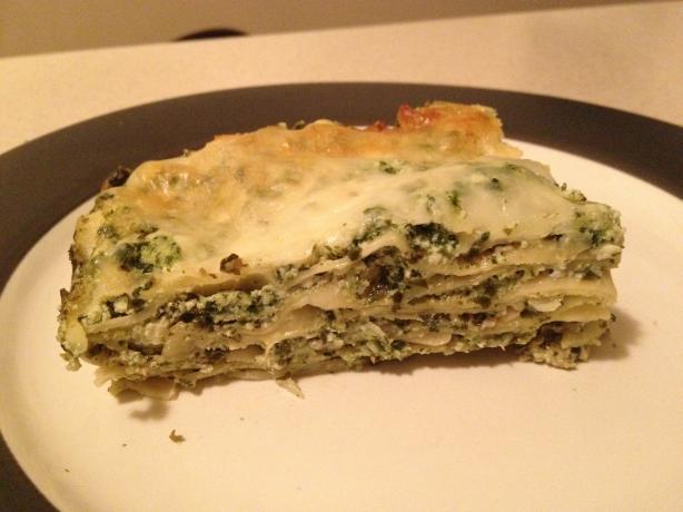 Spinach, Artichoke, & Pesto Lasagna
