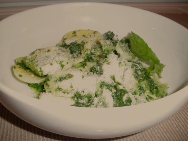 Ravioli W/Spinach Pesto