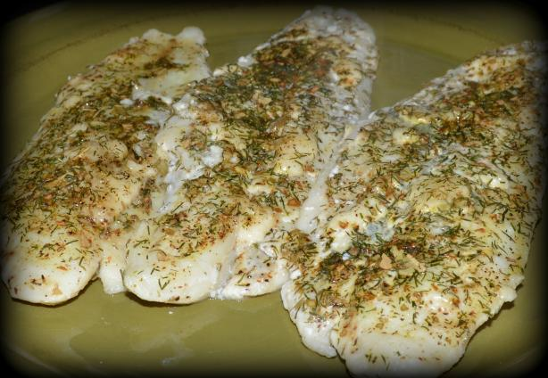 Oven Baked Maine Fish