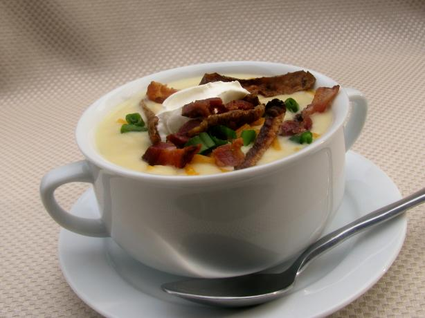 "Loaded "" Baked"" Potato Soup"