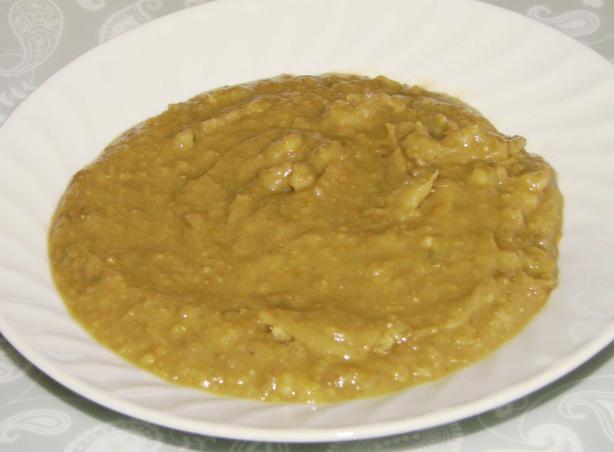 Creamy Split Pea & Lentil Soup