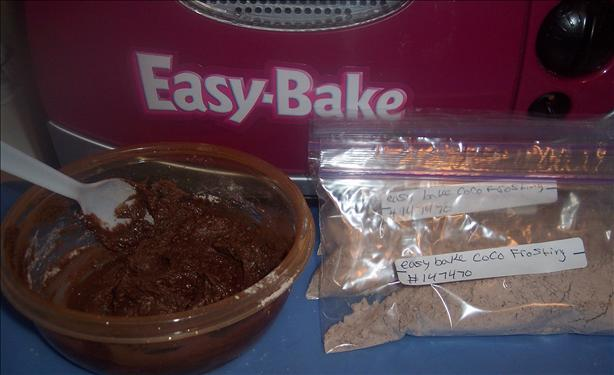 Easy-Bake Oven Children's Chocolate Frosting