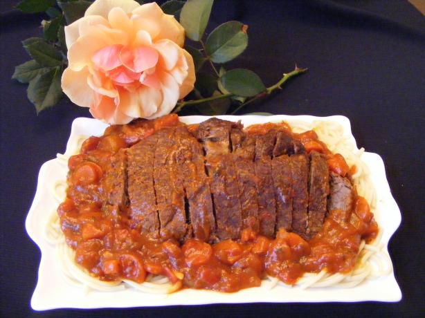Crock Pot Beef Roast With Tomato Madeira Sauce