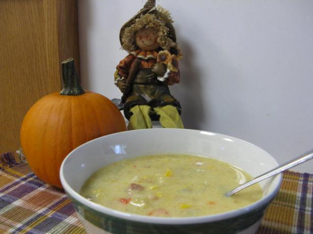 Hearty Pumpkin Chowder (or Butternut Squash)
