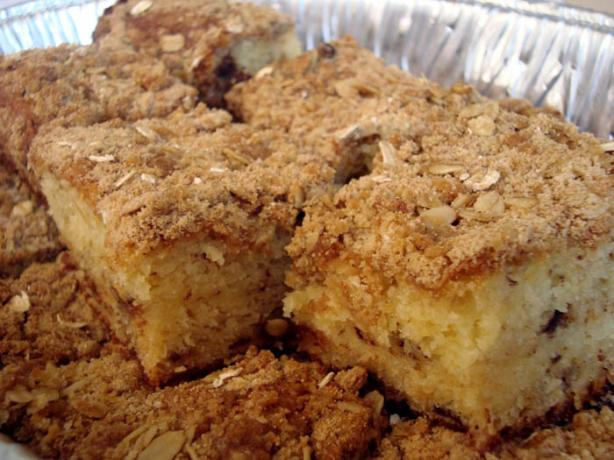 Crumb Cake or Coffee Cake With Easy Streusel Topping
