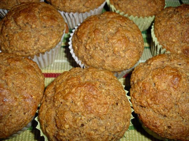 Oat Bran Muffins (Weight Watchers 3 Points)