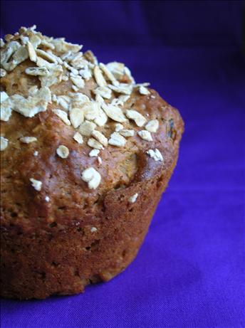 Spicy Sour Cream Raisin Muffins