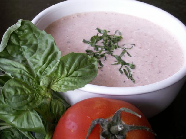 Easy-Peasy Creamy Tomato Basil Soup