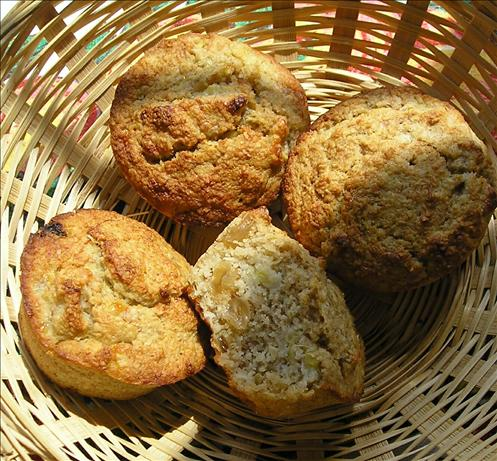 Banana Oat Bran Muffins With No Added Sugar