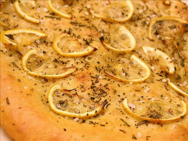 Rosemary, Lemon, and Pepper Focaccia