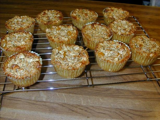 Apricot Walnut Oatmeal Muffins (No Flour!) SBD Phase 2&3