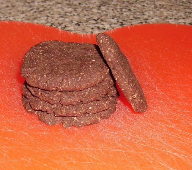 Chocolate Arrowroot Cookies (No Gluten, No Sugar)