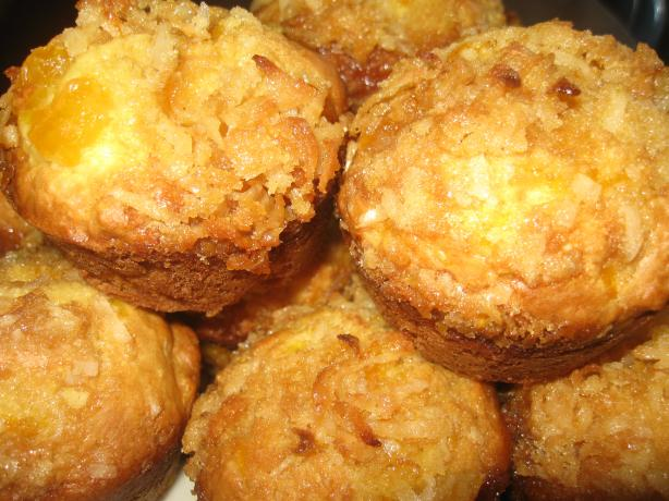Orange Coconut Muffins