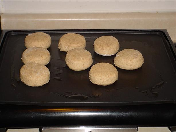Whole Wheat English Muffins