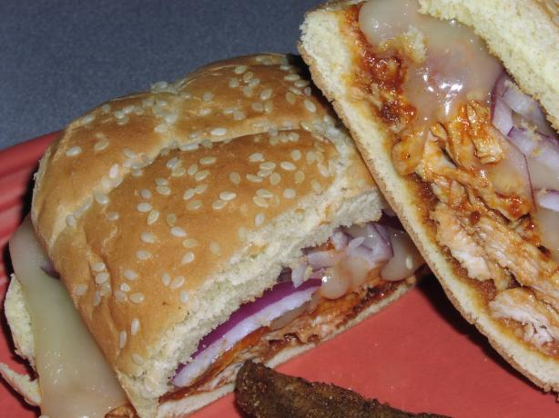 Honey Chipotle Barbecue Chicken Sandwiches