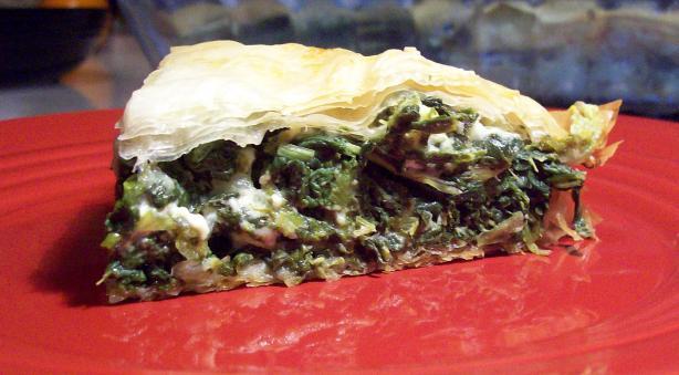 Tip's Spanakopita (Spinach Pie)