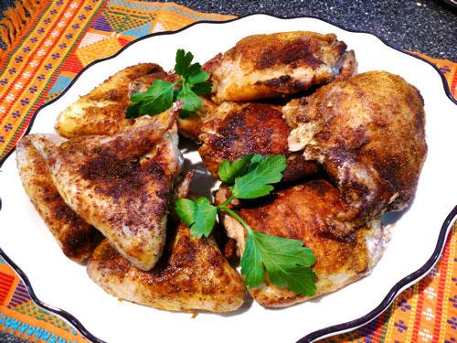 Roasted Chicken Al-Kabsa (Saudi) (Gluten Free)