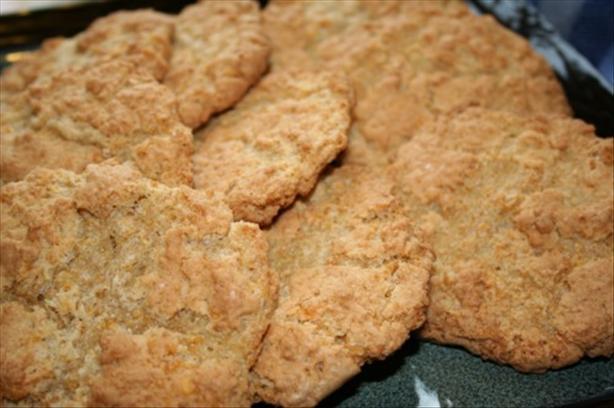 Grandma's Flake Cookies