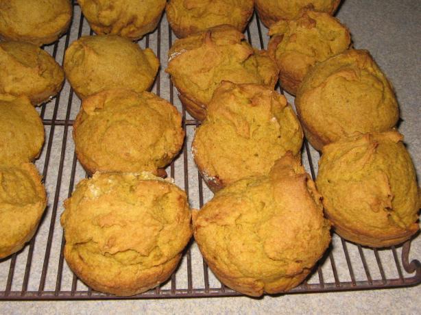 Yummy Gluten Free Pumpkin Muffins