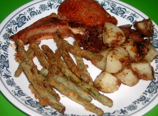 My Mom's Fried Green Beans