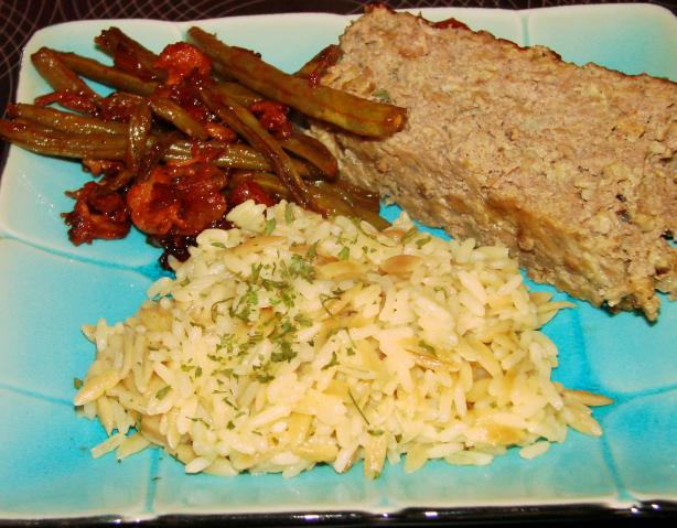 Kritharaki Me Rize (Greek Orzo and Rice Pilaf)