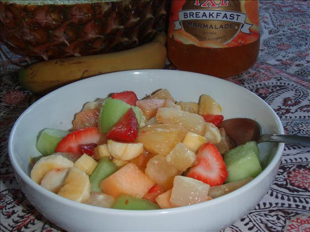 Mozart's Fruit Melody (Salad)