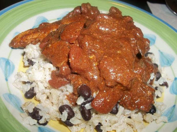 Chicken Pepita Mole