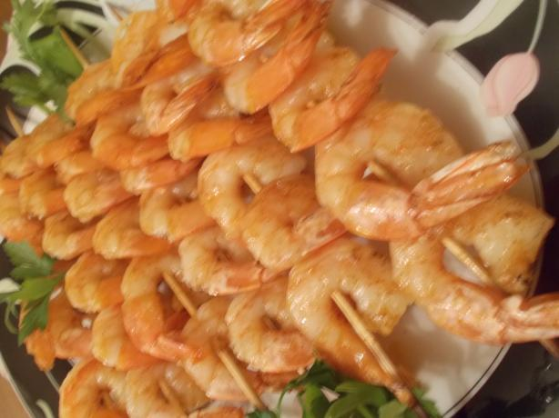 Grilled Shrimp Kabobs With Creole Butter