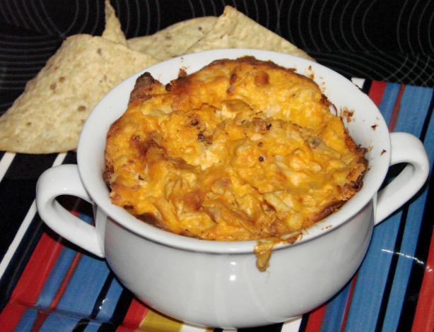 Spicy Chicken Cheese Dip