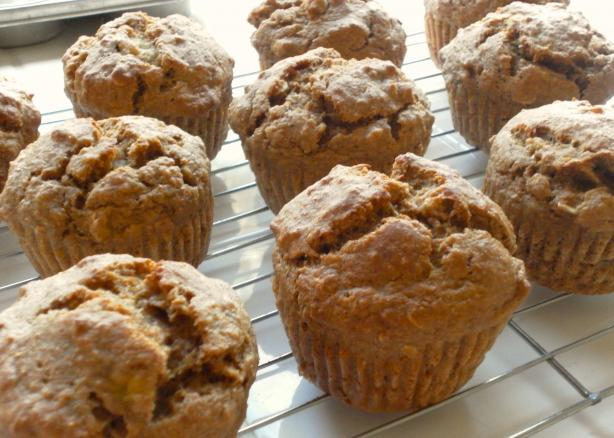 Low-Fat Banana Buttermilk Muffins