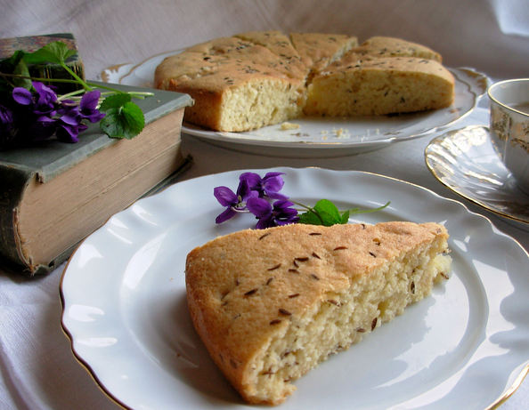 Mrs Beeton's Victorian Seed Cake - a Very Good Seed Cake