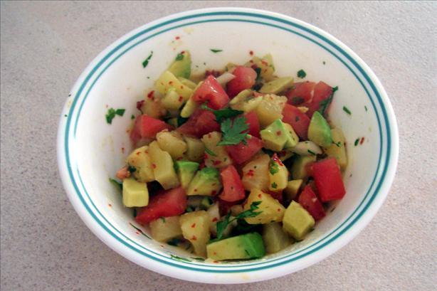 Pineapple-Avocado Salsa