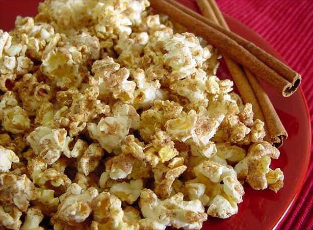Cinnamon Glazed Popcorn