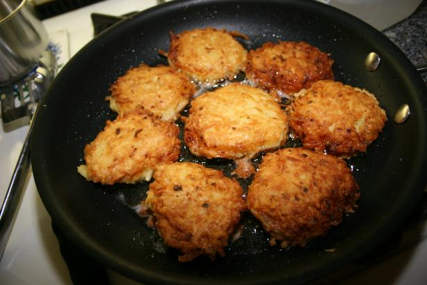 Old-fashion Potato Pancakes