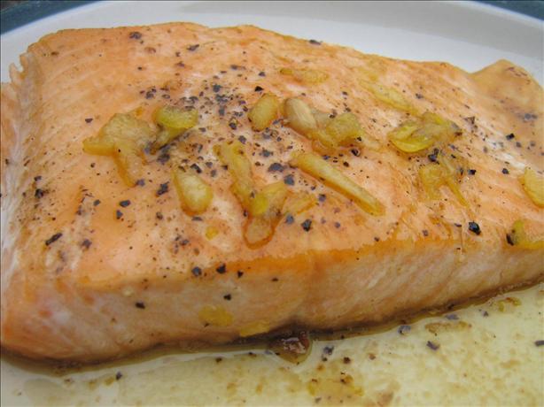 Tasmanian Pepper Poached Salmon With Orange